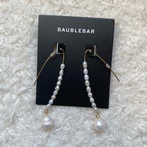 BAUBLEBAR Pearl Dangling Earrings